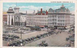New York Syracuse Clinton Square