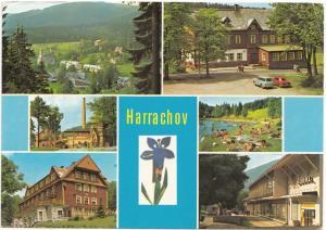 Harrachov, Czech Republic, 1973 used Postcard