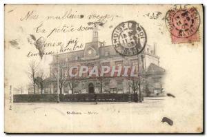 Postcard Old Saint Ouen Mairle