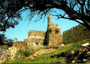 Israel Jerusalem The Citadel David's Tower Near Jaffa Gate