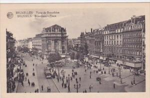 Belgium Brussells Brouckeres Place