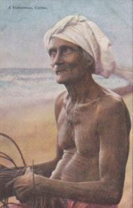 Sri Lanka Ceylon Colombo Native Fisherman