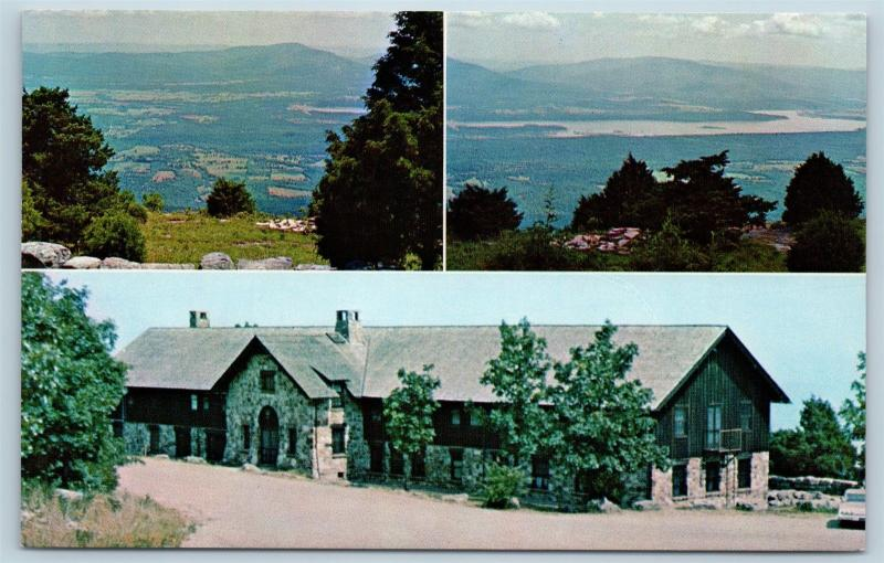 Postcard AR Paris Mount Magazine Lodge View From Lodge N12