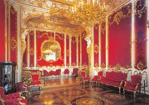 St Petersburg Russia Postcard, The Hermitage, The Boudoir Y20