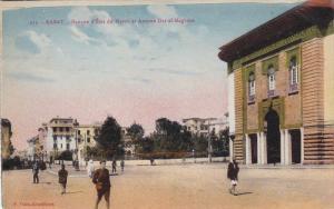 RABAT.-Banque d'Etat du Maroc et avenue Dar-el-Maghzen , PU-1930