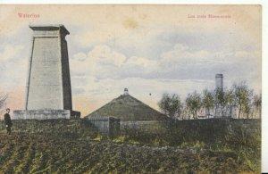 Belgium Postcard - Waterloo - Les Trois Monuments - Ref TZ7919