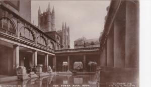 RP: Courtyard View, The Roman Bath, Bath, Somerset, England