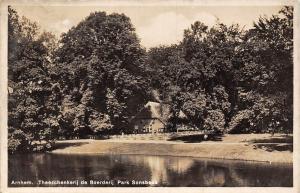 Netherlands Holland Arnhem Theeschenkerij de Boerderij Park Sonsbeek 1934
