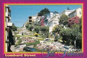 California San Francisco Lombard Street