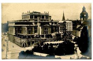 Sweden - Stockholm. Royal Opera House & Jakobs Church  *RPPC