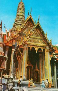 Thailand Thai Emerald Temple Thebpidorn Buddha Vintage Postcard