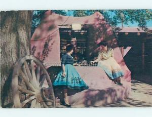 Pre-1980 WISHING WELL AT MARKET Albuquerque New Mexico NM hn5498