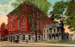 New York Binghamton Y M C A Building 1913 Curteich