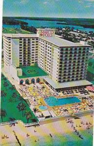Florida Miami Beach Macrco Polo Resort Motel With Pool