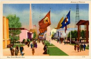 NY - New York World's Fair, 1939. Avenue of Patriots