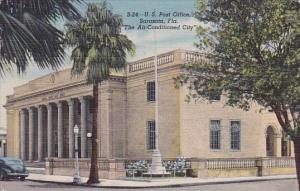 Florida Sarasota U S Post Office The Air Conditioned City