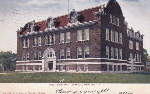 AURORA , Illinois , PU-1907 ; West Side High School
