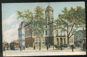 CT Hartford Old State House (New City Hall) Raphael Tuck UND 1905 Postcard