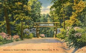 WV - Gateway to Cooper's Rocks State Forest near Morgantown