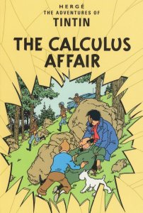 Tintin The Adventures Of Calculus Affair Book Postcard
