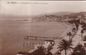 France Cannes La Croisette et le Mont Chevallier Real Photo