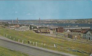 A View Of Halifax Harbour & The Angus L. MacDonald Bridge To Dartmouth, Halif...