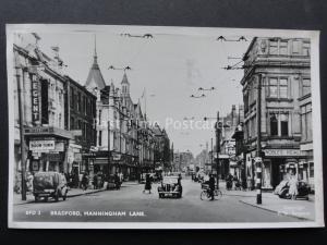 Yorkshire BRADFORD Manningham Lane showing THE REGENT THEATRE c1949 RP Postcard
