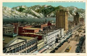 UT - Salt Lake City. Main Street