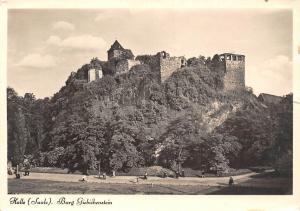 Halle Saale Burg Giebichenstein Castle Ruins Chateau