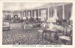 Michigan Dearborn The Lobby Formal Early American The Dearborn Inn Albertype
