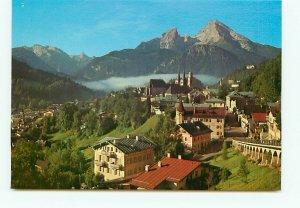 Aerial Berchtesgaden Watzmann Germany