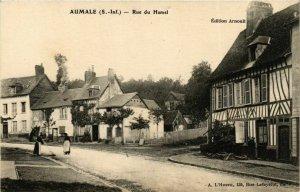 CPA AUMALE Rue du Hamel (868910)