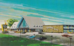 Holiday Inn de Quebec, Rond Point , Pont de Quebec , Canada , 50-60s