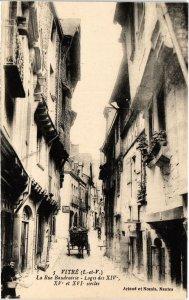 CPA Vitre La Rue Baudrairie FRANCE (1015740)