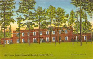 Henry County Memorail Hospital, Martinsville, VA, USA Henry County Memorail  ...