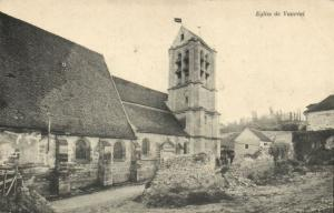 CPA Eglise de Vaureal (107643)