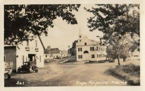RP: CAPE PORPOISE , Maine , 1930s ; Street , Maine , 1951