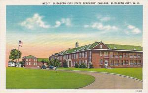 Exterior, Elizabeth City State Teachers' College, Elizabeth City, North Carol...