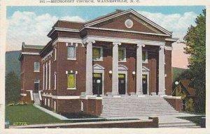 North Carolina Waynsville Methodist Church