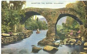 Ireland, Shooting the Rapids, Killarney, early 1900s