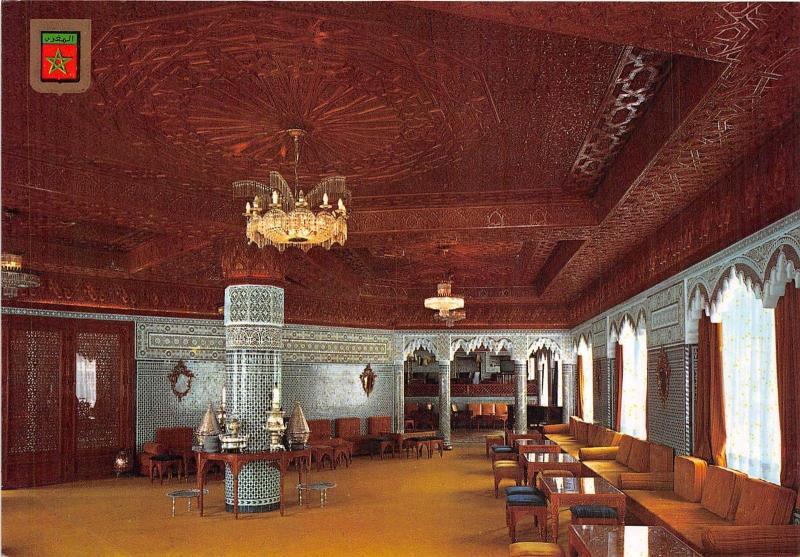 Bg14097 Tanger Hotel Chellah Salon Arabe Morocco Hippostcard