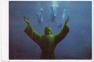 GOLFO PARADISO, S. Fruttuoso di Camogli - Il Cristo degli Abissi, Postcard