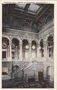 Entrance Hall Library Of Congress Washington DC