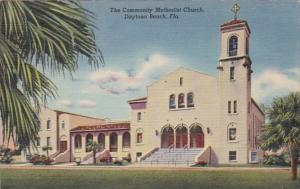 Florida Daytona The Community Methodist Church Curteich