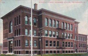 Rhode Island Providence Webster Street Grammar School