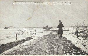Guerre 1914 Ramskapelle Belgium World War 1 The Battle of the Yser 06.21