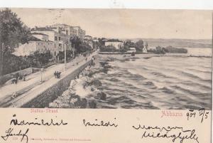 B79624 slatina strand abbazia croatia  front/back image