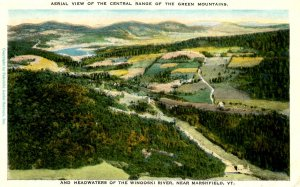 VT - Marshfield. Green Mountains, Headwaters of Winooski River