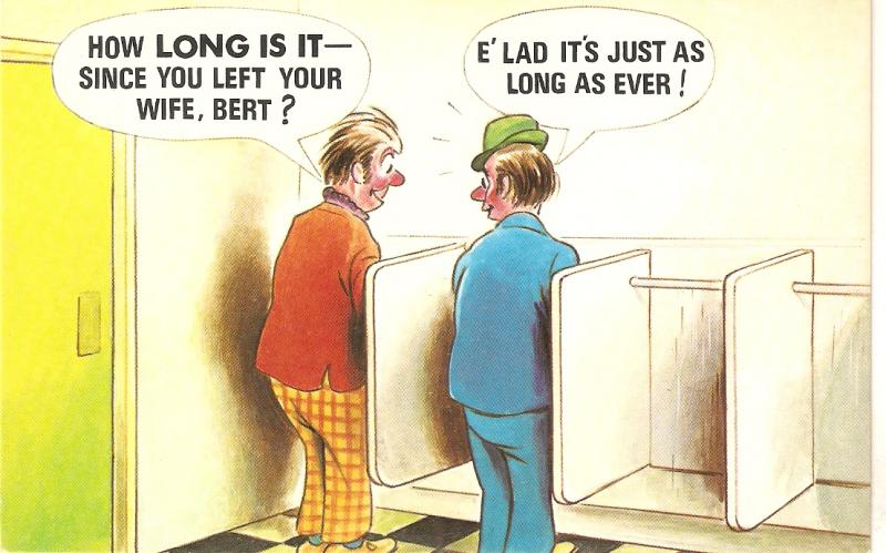 ser. PC # 786How long is it, since you left your wife.. Saucy Bamforth Comic