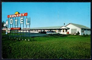 Sunset Motel,Sault Ste Marie,MI
